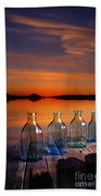 In The Morning At 4.33 Beach Towel by Veikko Suikkanen
