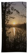 In The Morning At Lough Eske Beach Towel