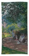 In The Park Monceau Beach Towel