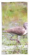 In The Pasture Grass Beach Towel