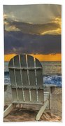 In The Spotlight Beach Towel by Debra and Dave Vanderlaan