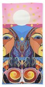 In Unity And Harmony Beach Towel