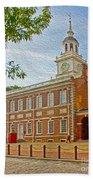 Independence Hall Philadelphia  Beach Towel