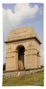 India Gate, New Delhi, India Beach Towel