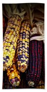 Indian Corn Beach Towel
