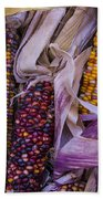 Indian Corn Harvest Beach Towel