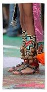 Indian Feet Beach Towel