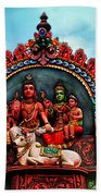 Indian Temple Beach Towel