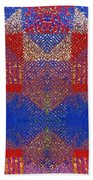 Indian Weave Abstract Beach Towel