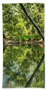 Indiana Reflections Beach Towel