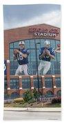 Indianapolis Colts Lucas Oil Stadium Beach Towel