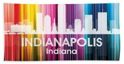 Indianapolis In 2 Beach Towel