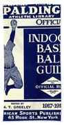 Indoor Base Ball Guide 1907 II Beach Towel by American Sports Publishing