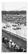 Indy 500 Auto Race Beach Towel