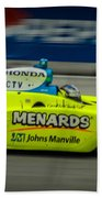 Indy Car 20 Beach Towel