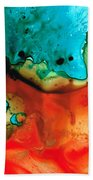 Infinite Color - Abstract Art By Sharon Cummings Beach Towel by Sharon Cummings