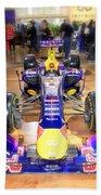 Infiniti Red Bull Formula One Racing Car  Beach Towel