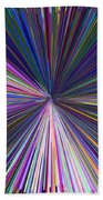 Infinity Abstract Beach Towel