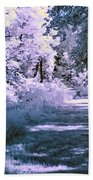 Infrared Morning Beach Towel
