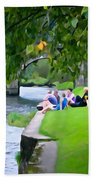 Inistioge Friends Beach Towel