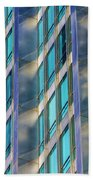 Inland Steel Building Beach Towel