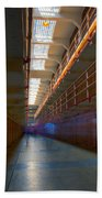 Inside Alcatraz Beach Towel