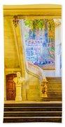 Inside Capitole De Toulouse Beach Towel