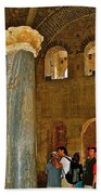 Inside Church Of Saint Nicholas In Myra-turkey Beach Towel