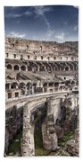 Inside Colosseum Beach Towel