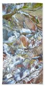 Inside Painted Cave In Lava Beds National Monument-california Beach Towel