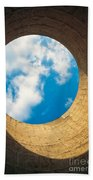 Inside View Of Cooling Tower Beach Towel