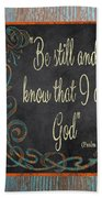 Inspirational Chalkboard-b2 Beach Towel