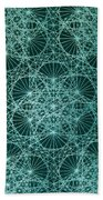 Interference Beach Towel