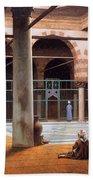 Interior Of A Mosque Beach Towel