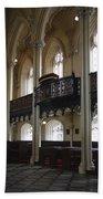 Interior Of The Chapel Royal - Dublin Castle Beach Towel