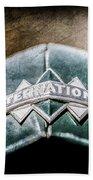 International Grille Emblem -0741ac Beach Towel