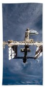 International Space Station Beach Towel
