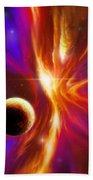 Intersteller Supernova Beach Towel by James Christopher Hill