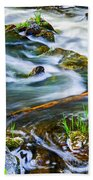 Intimate With River Beach Towel