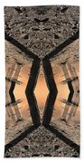 Into The Core Beach Towel