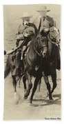 Into The Fray - Confederate Generals Beach Towel