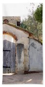 Into The Light, Mission San Miguel Archangel, California Beach Towel
