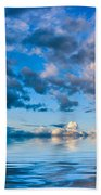Into The Wild Blue Yonder Beach Towel