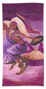 Intore Dance From Rwanda Beach Towel