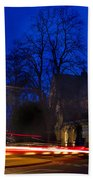 Inverness Cathedral At Night Beach Towel