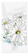 iPhone-Case-Flower-Daisy2 Beach Towel