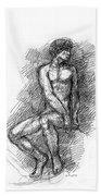 iPhone-Case-Nude-Male1 Beach Towel