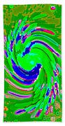Iphone Cases Artistic Designer Covers For Your Cell And Mobile Phones Carole Spandau Cbs Art 153 Beach Towel by Carole Spandau