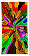 Iphone Cases Colorful Flowers Abstract Roses Gardenias Tiger Lily Florals Carole Spandau Cbs Art 180 Beach Towel