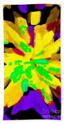 Iphone Cases Colorful Flowers Abstract Roses Gardenias Tiger Lily Florals Carole Spandau Cbs Art 182 Beach Towel